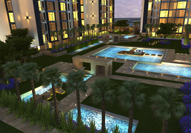 Landscaping m plot investment apartments kuwait for Garden design kuwait