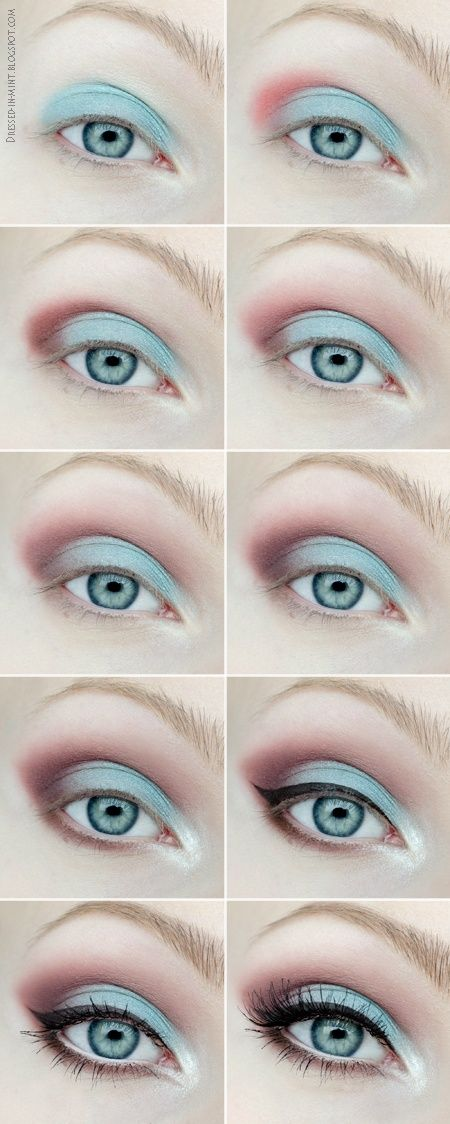 Makeup for mint dress?   Beautylish