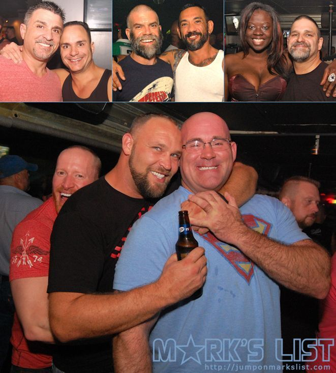 GROWL Fridays at Bill's Filling Station in #WiltonManors, FL features a  very busy weekly