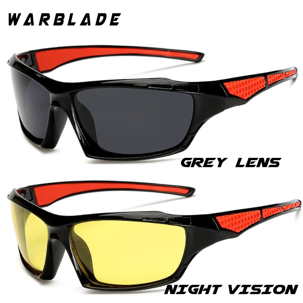 WarBLade Polarized New Sun Glasses Men Top Quality Male