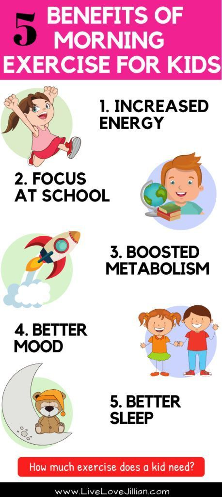 Morning Exercise for Kids - 5 Benefits Worth the Energy ...