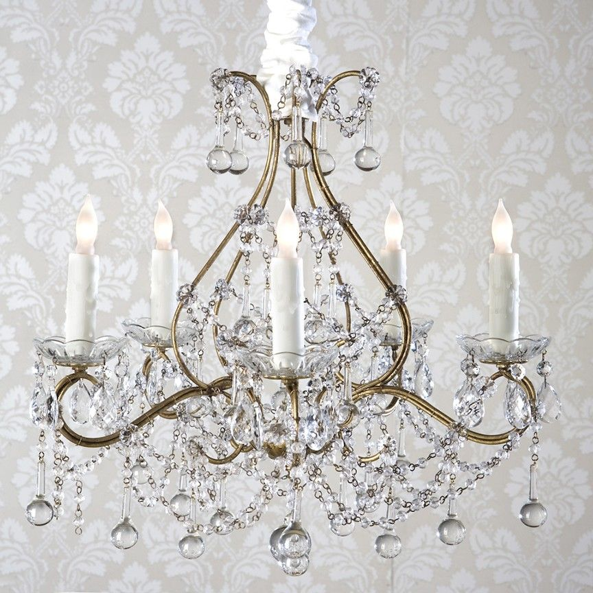 Shabby chic chandeliers i want this for our dining room shabby chic chandeliers i want this for our dining room description from pinterest aloadofball Images