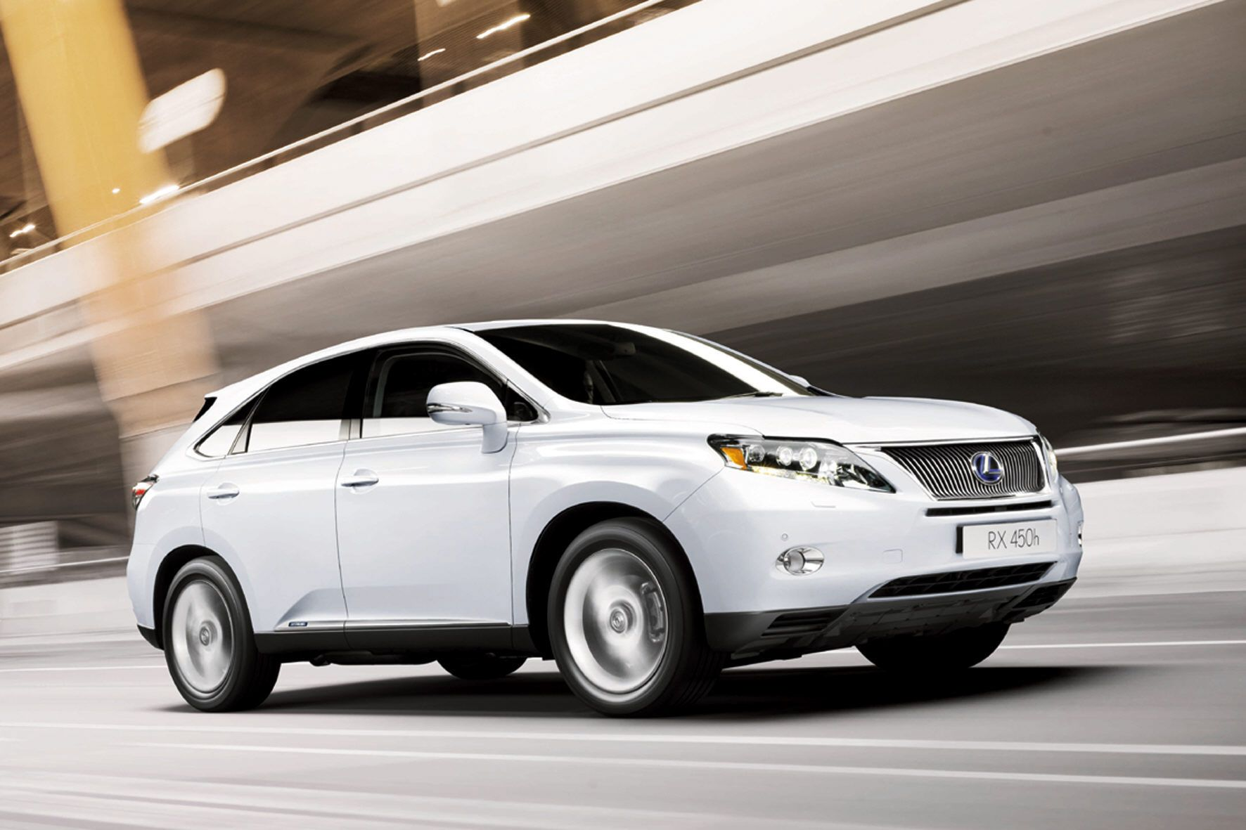 The lexus rx 450h suv luxury and power in an suv what more could