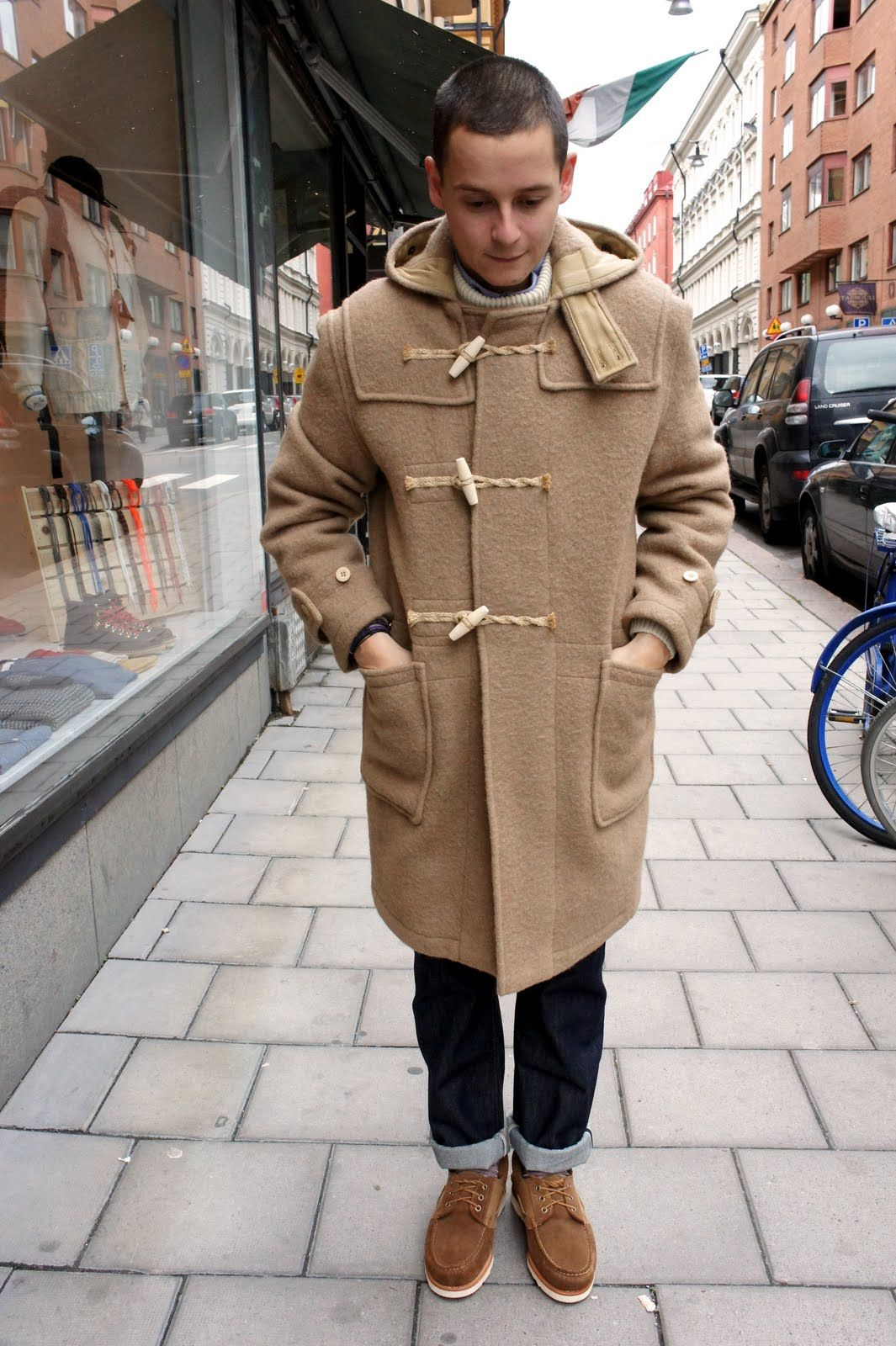 Gloverall Monty duffle coat | Mens fashion | Pinterest | Coats ...