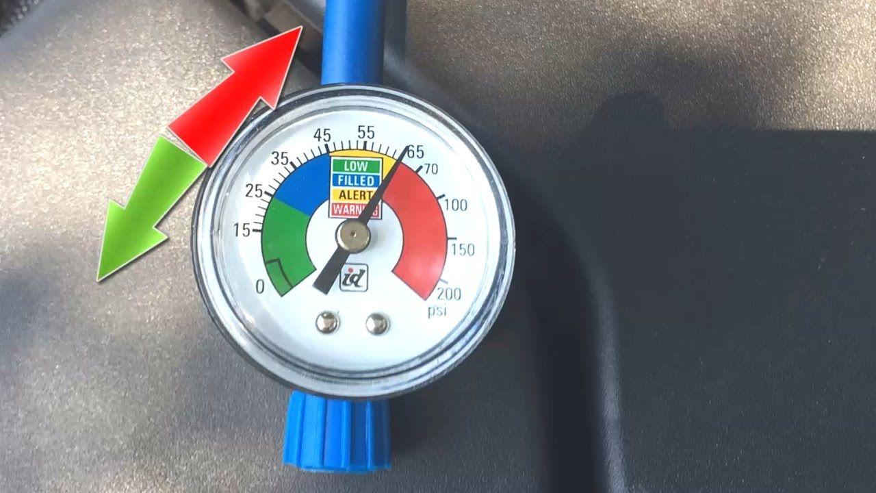 Car AC pressure too high FIX overcharged a/c gauge