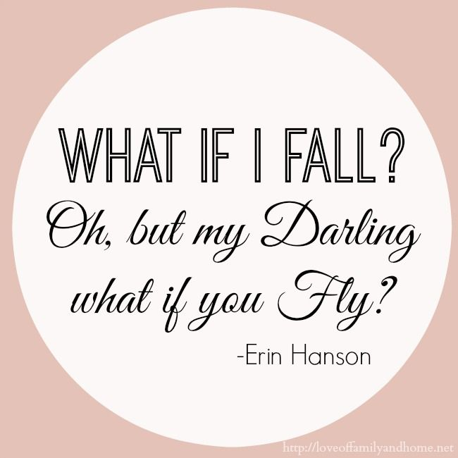 What If I Fall Quote Daily Inspiration Quotes