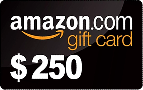 Win A 250 Amazon Gift Card Open Worldwide Amazon Gift Card Free Amazon Gift Cards Gift Card