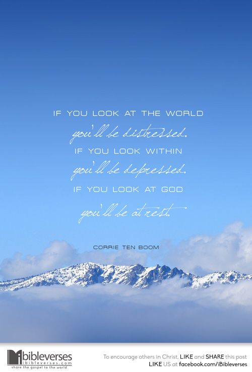 Look at God :: iBibleverses - Quotes :: Collections of Inspirational Quotes Images about Love, Hope, Faith, Praise and Worship