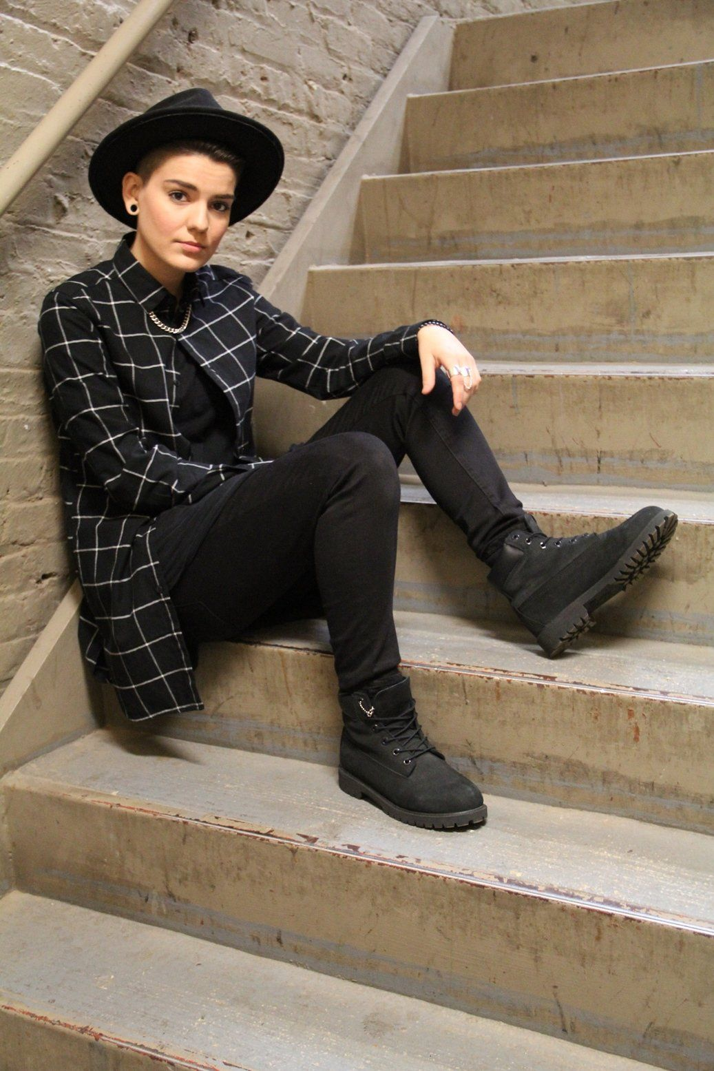 Style Dossier: Alyssia Evans | dapperQ | Queer Style -   8 style Tomboy clothes ideas