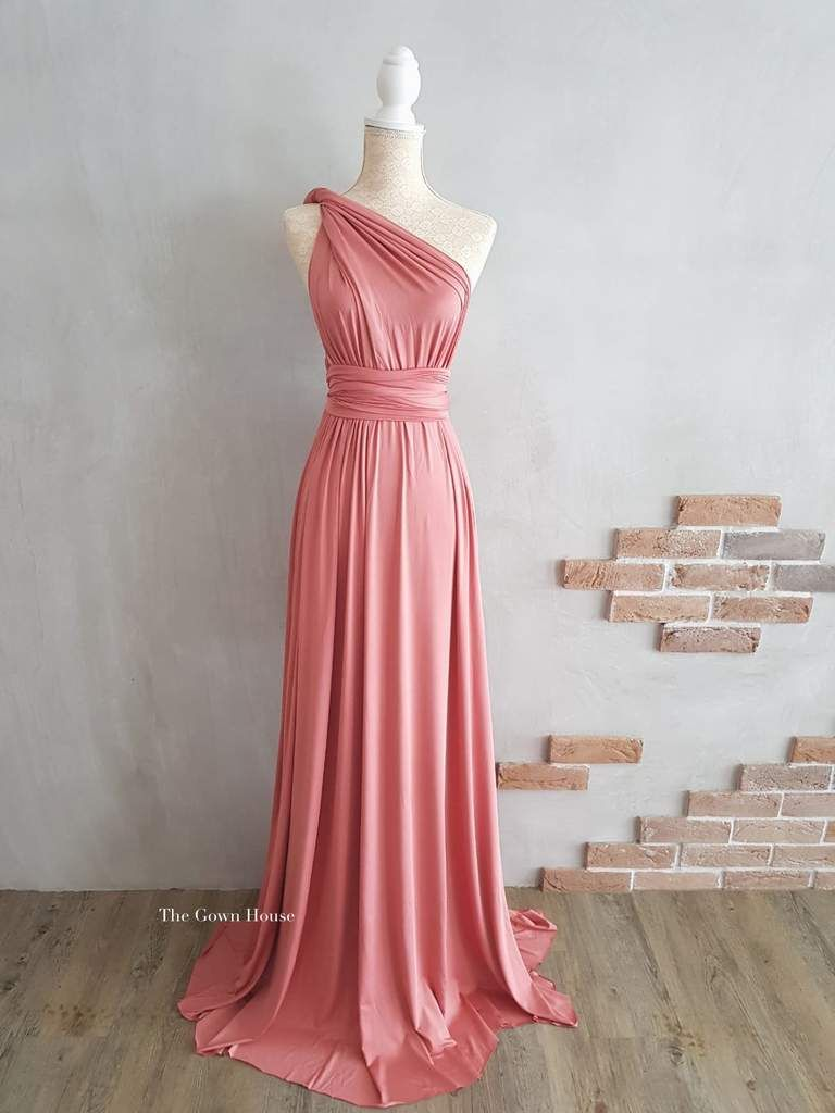 Rose Infinity Gown PRE ORDER in 2020 | Multiway bridesmaid