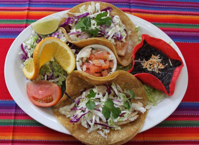 Fish Tacos Casa Guadalajara Old Town Healthy dining