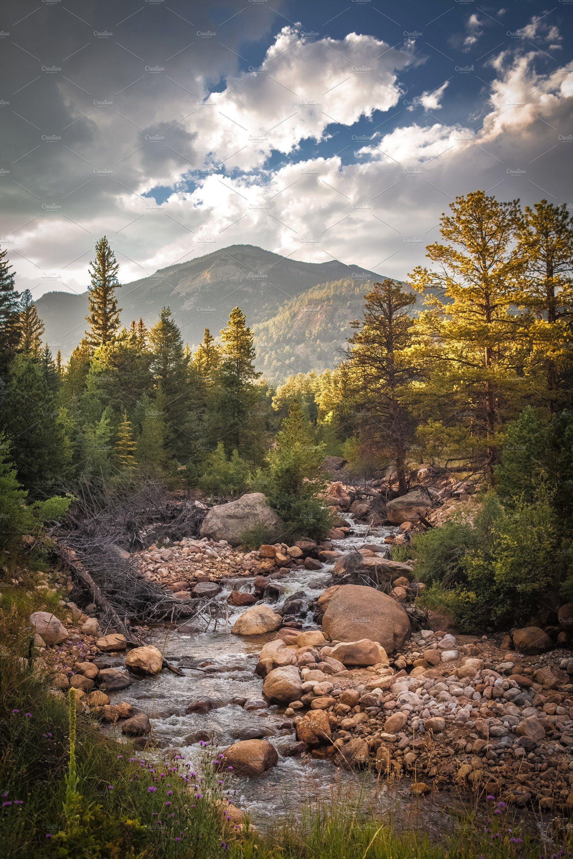 Rocky Mountain National Park, CO ~ Nature Photos ~ Creative Market