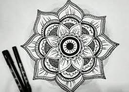 Resultado De Imagen Para Dibujos Tumblr A Lapiz Faciles Mandalas Y