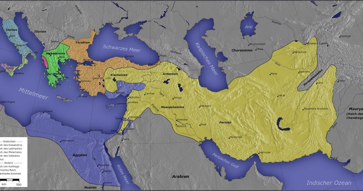 Map of Hellenistic Successor States Recent Posts