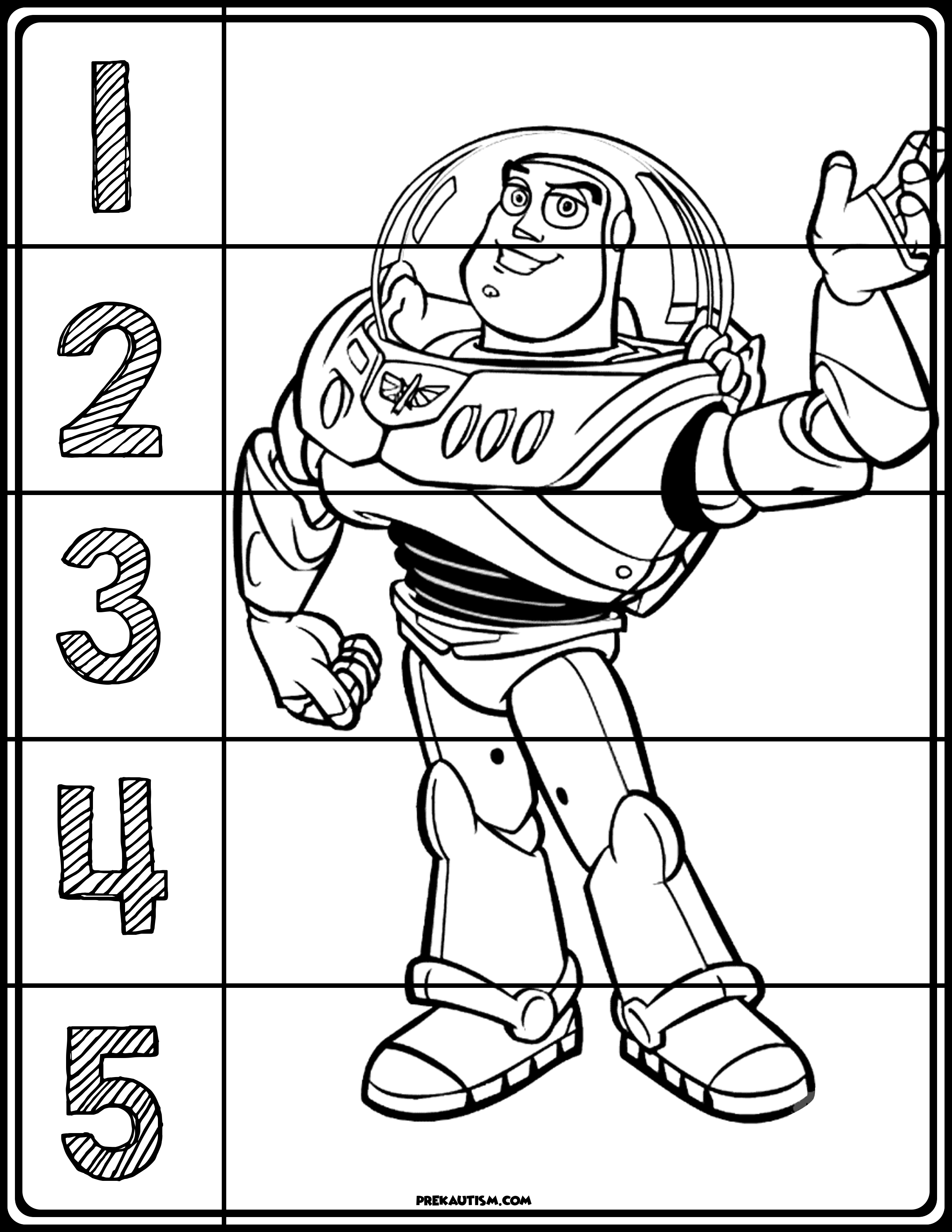 Toy Story Puzzles Kindergarten Classroom Themes Toy Story Free Preschool Printables