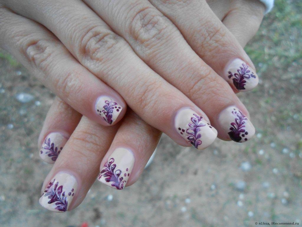Дизайн ногтей в домашних условиях (рисунки и т.п.) - «Мое ...