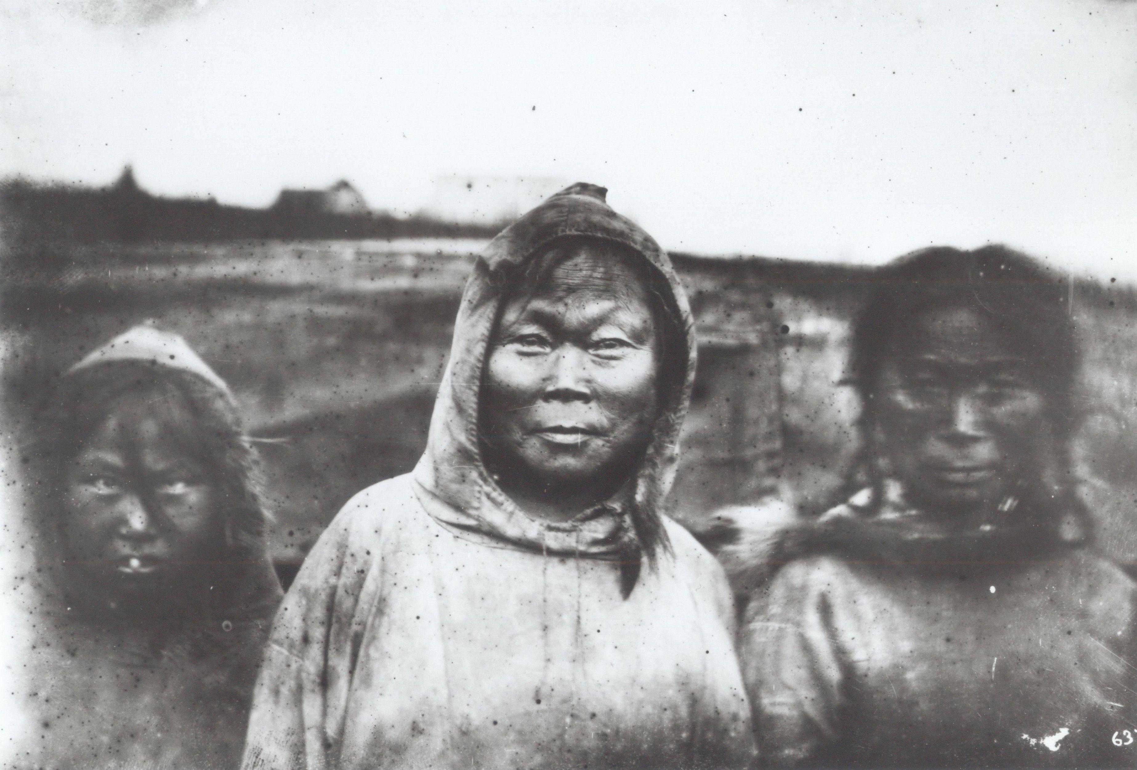 yupik facial history