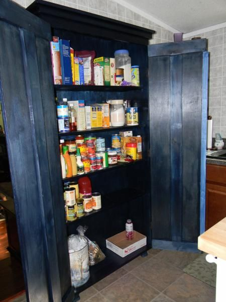 Diy simplest armoire as kitchen pantry build it yourself pinterest diy simplest armoire as kitchen pantry solutioingenieria Images