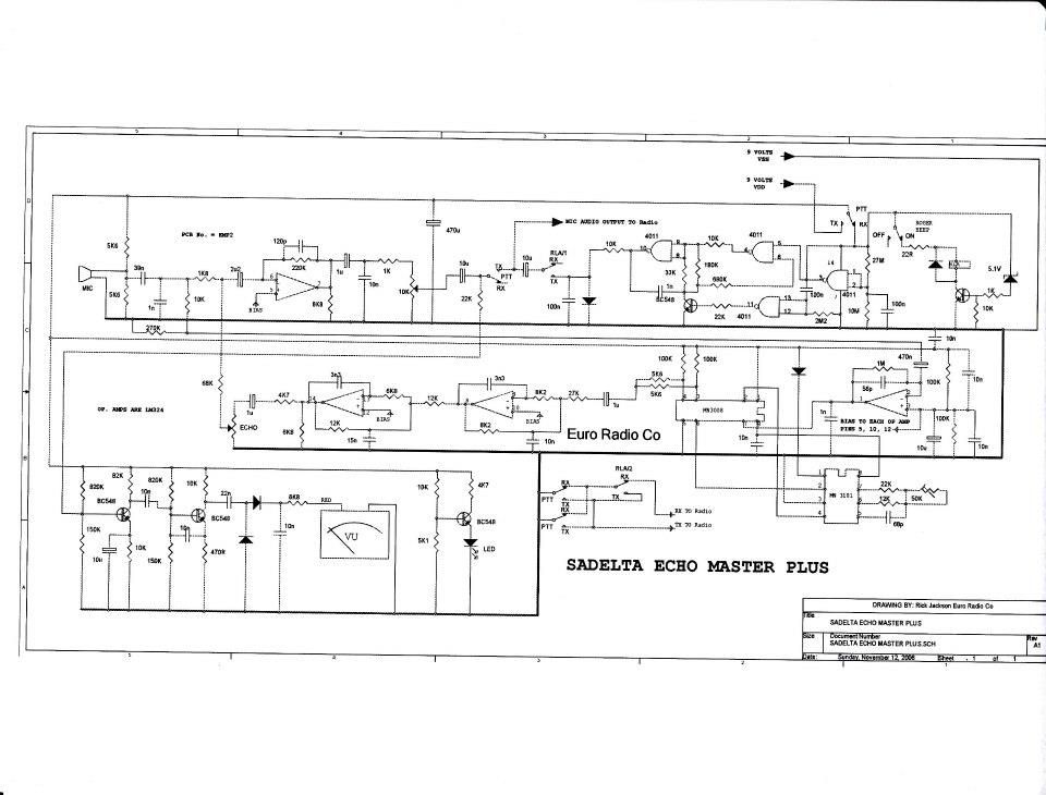 Sadelta Echo Master Wiring Diagram Wiring Schematic Diagram