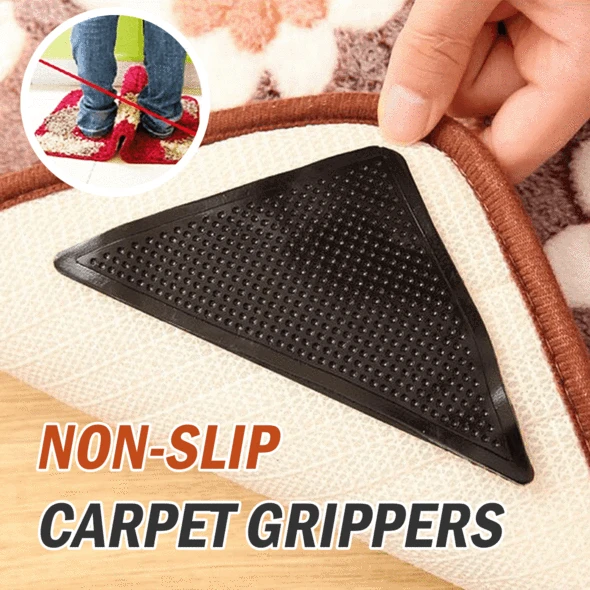 Eco Friendly And Reusable Rug Grippers Set Of 4 In 2020 Rugs Cool Rugs Rugs On Carpet