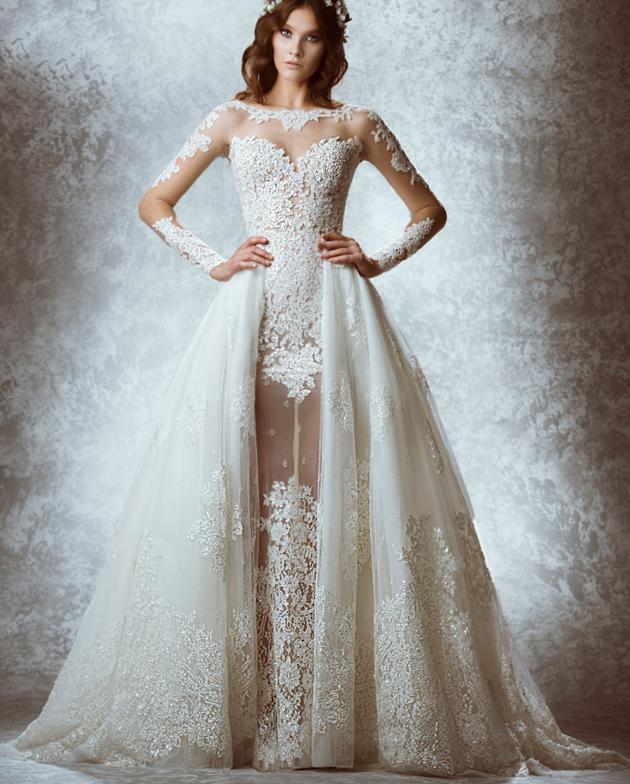 Mia Over Skirt_Zuhair Murad Bridal 2015