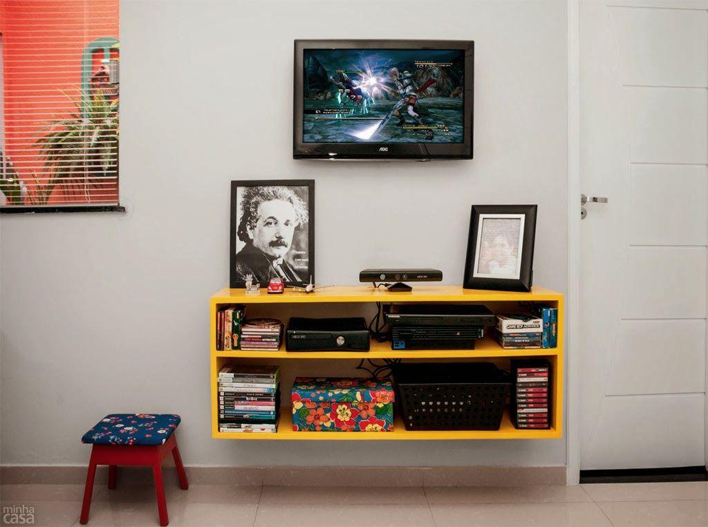Minha Casa + Colorida: ... e ficou assim