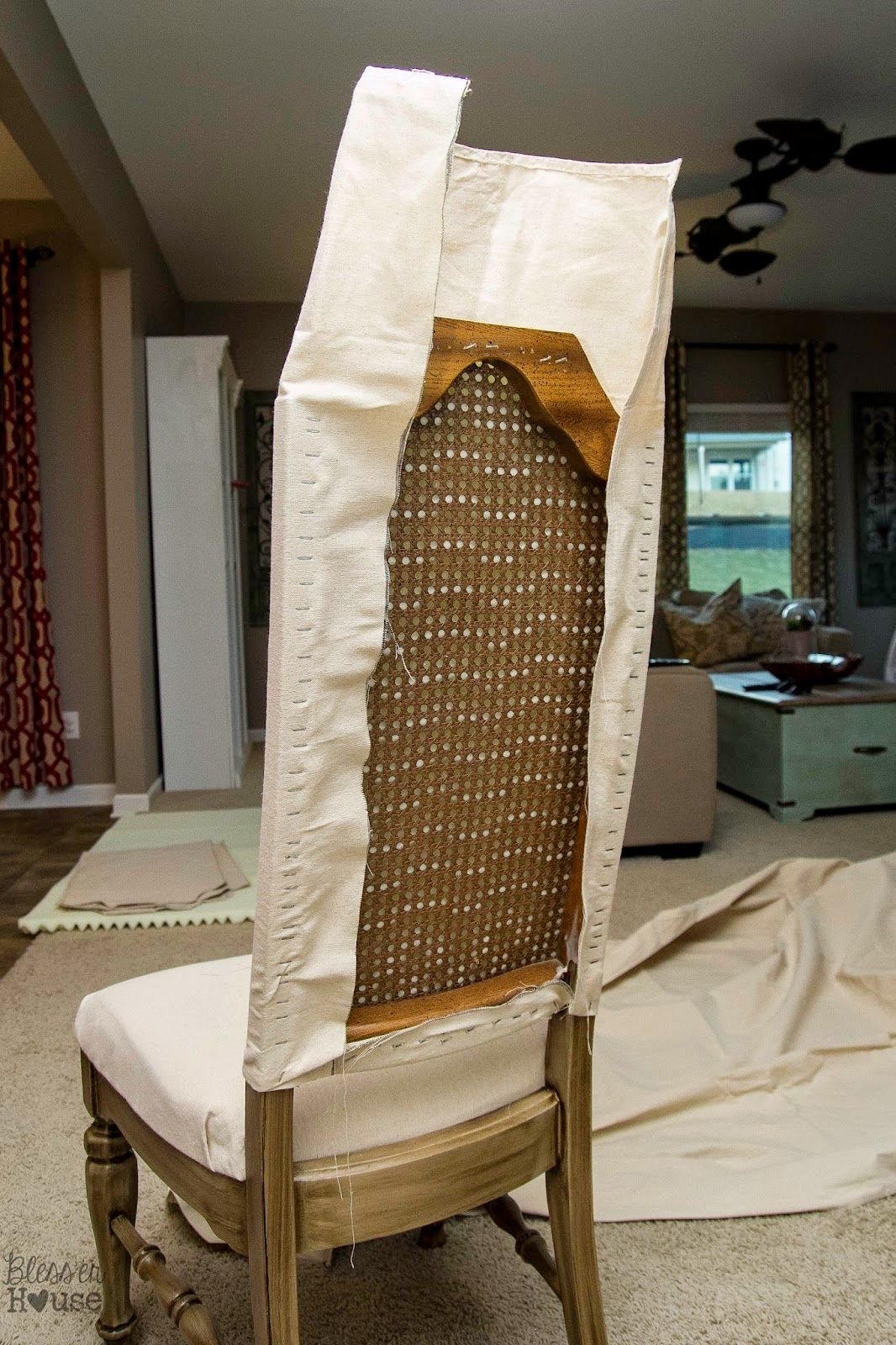Knock Off No Sew Dining Chairs Reupholster Furniture