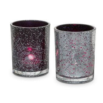 Product Image Of Spider Web Tealight Pair Partylite Party Lite Candles Tea Lights