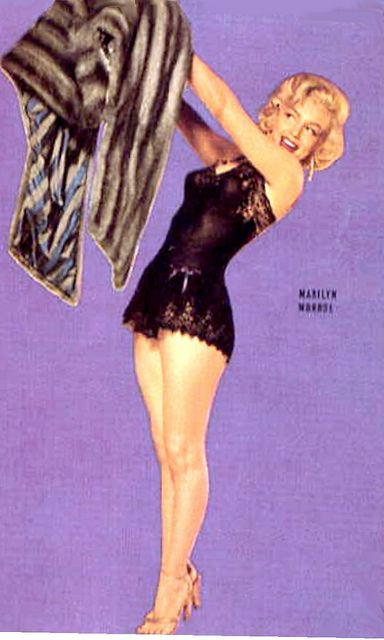 *Marilyn Monroe pin up 1953 for ''How to Marry A Millionaire''