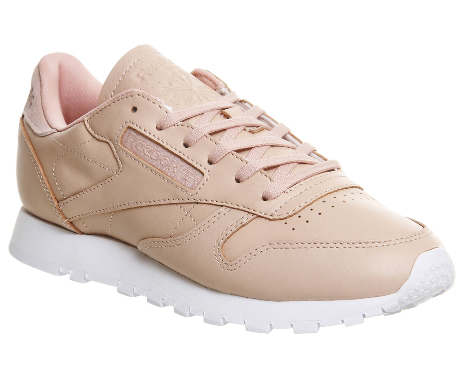 Reebok Classic Leather Pink Mono Hers
