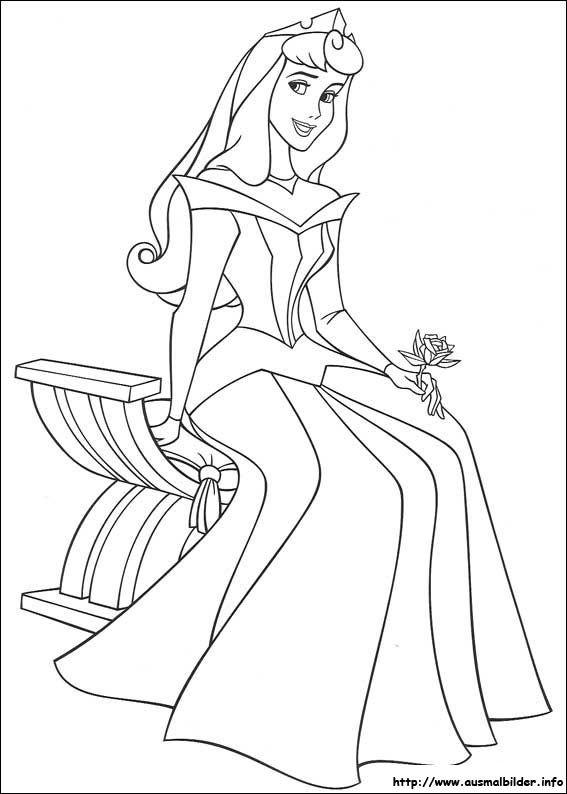 Dornröschen Malvorlagen Malvorlagen Disney Coloring Pages