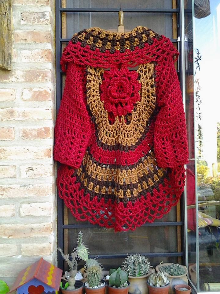 Warawa Urbana, | crochet | Pinterest | Tejido, Sacos y Ponchos