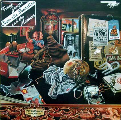 Frank Zappa Music Covert Art Pochette Album Album