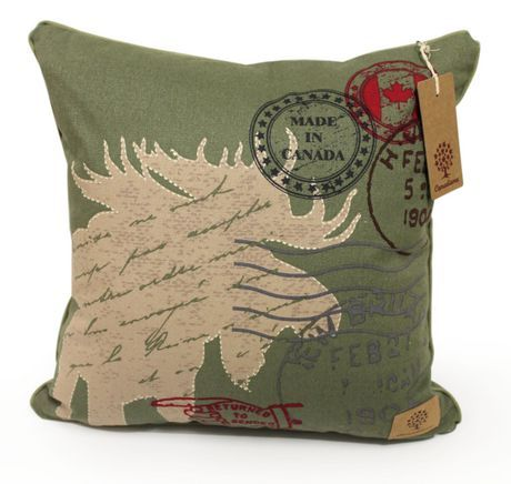 Canadiana decorative cushion living room for Decoration maison walmart