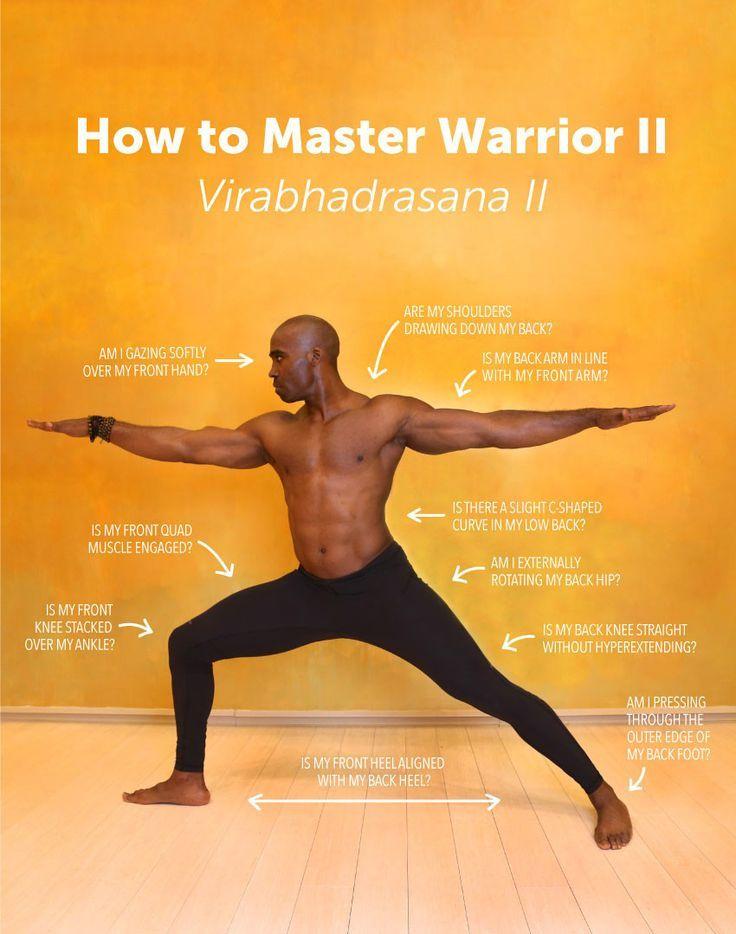 Virabhadrasana II) Warrior 2 Pose Benefits | Meditación, Yoga y ...