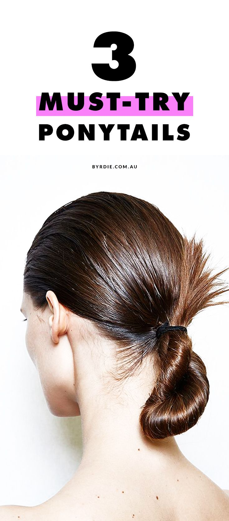 new ways to pimp your ponytail for the office hair styles
