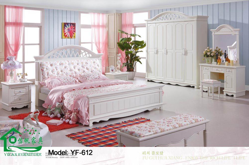 Bedroom Set White Color Home Decorating Ideas House Designer