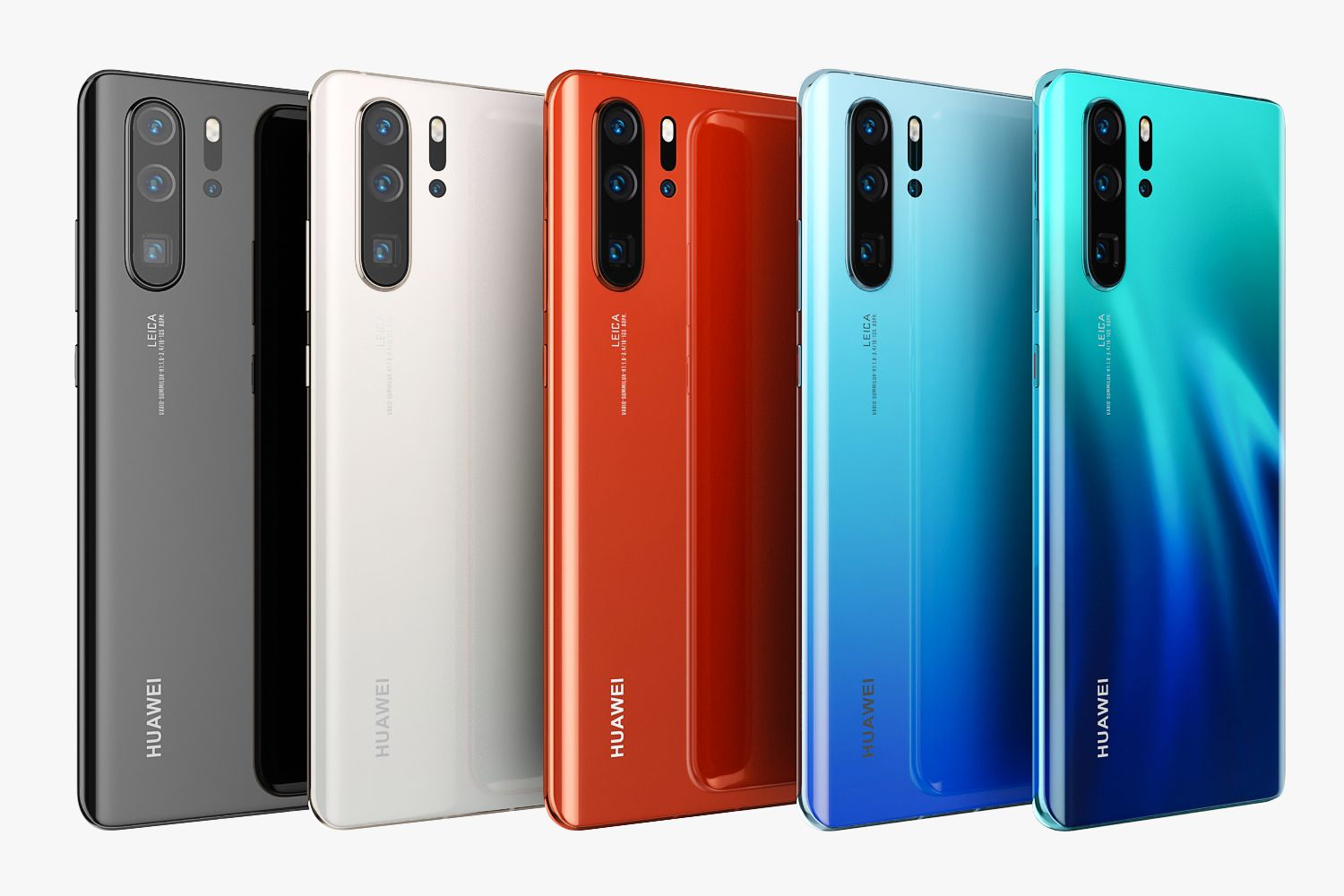 Huawei P30 Pro All Colors Ad Huawei Colors Pro