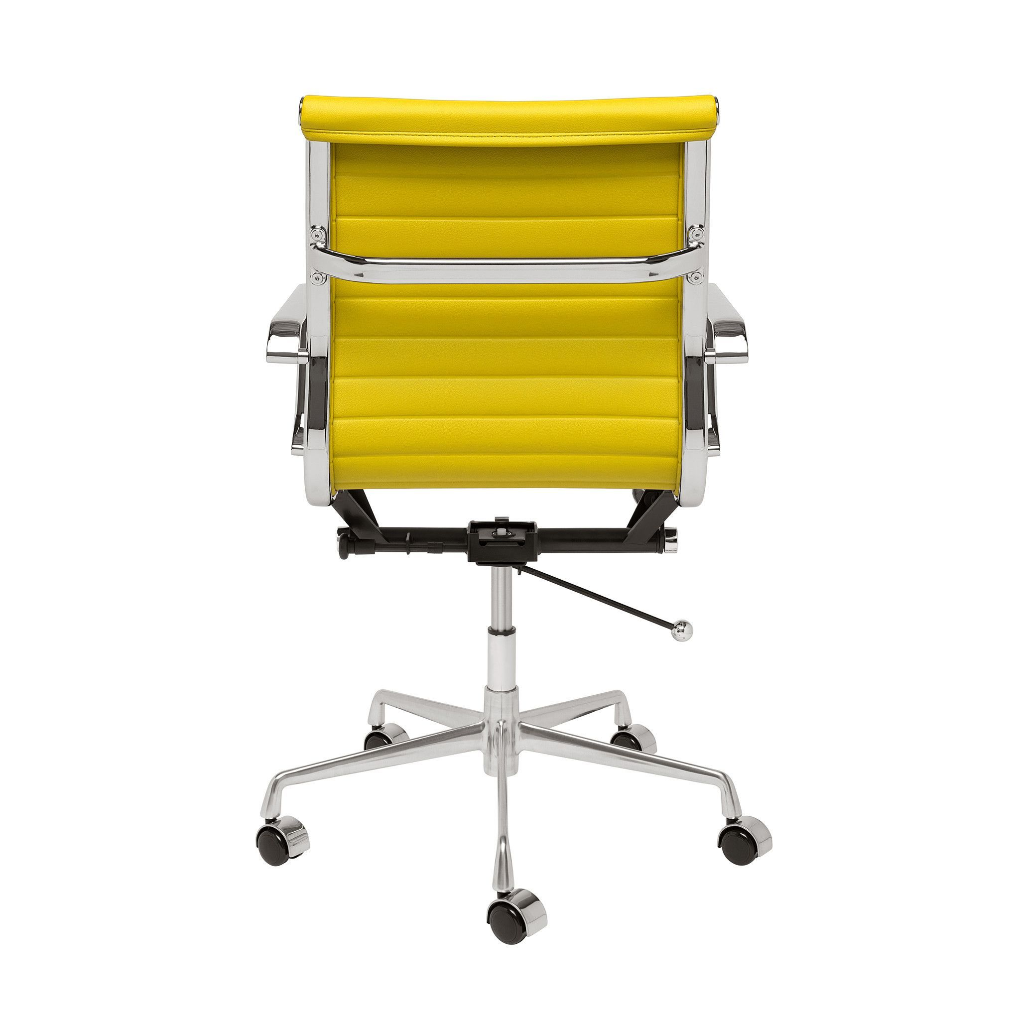 Soho ribbed management chair yellow laura davidson chairs