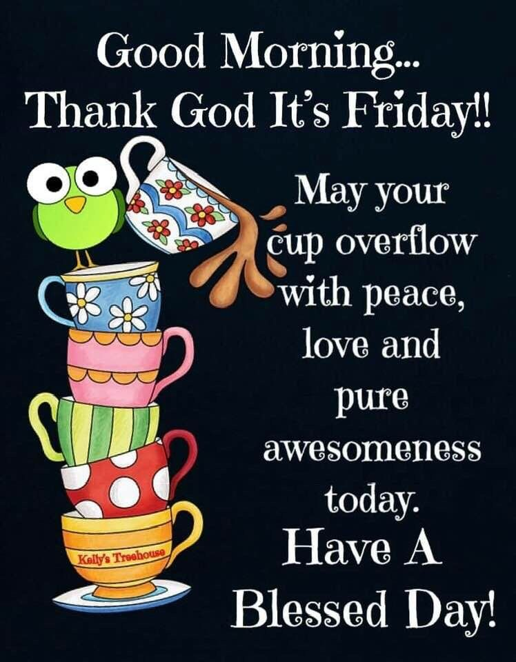 Good Morning Tgif Images : morning, images, Happy, Friday, Morning,, Blessed, Friday,, Morning