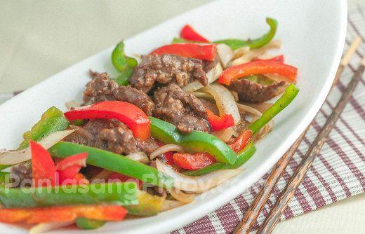 Easy beef pepper steak rice recipes