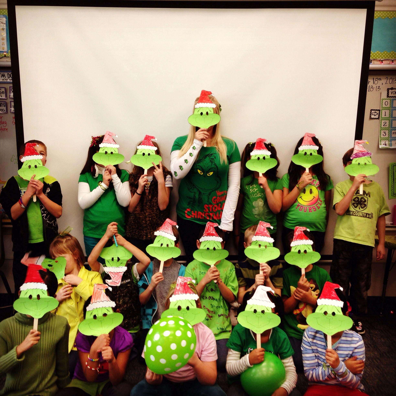 Grinch Day Second Grade