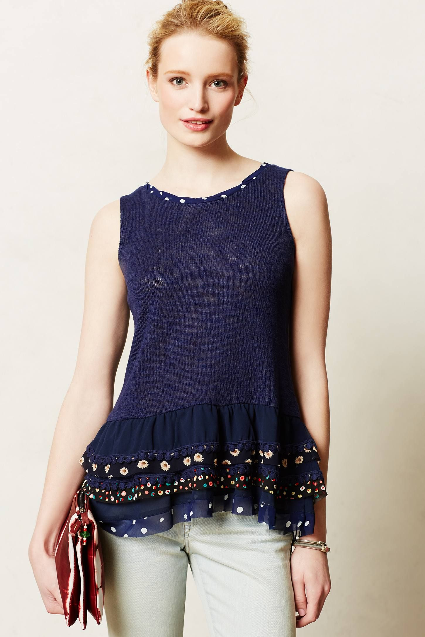 Chacha Tank - anthropologie.com