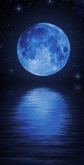 Einmal in einem blauen Mond Als ich dieses Gedicht der Rebelle Society las, wurde mir klar, dass ich allen meinen Freunden genau das wünsche, was der Mond zum Herzen gerufen hat ...