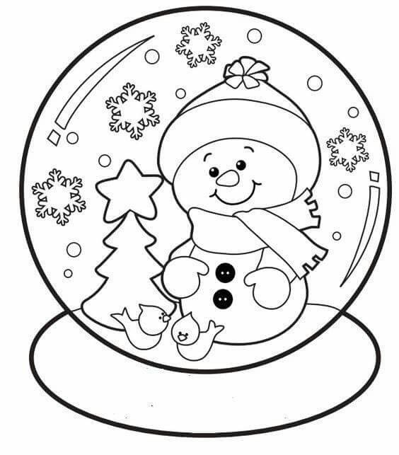 Pin By Elize B On Kids Craft With Images Christmas Coloring