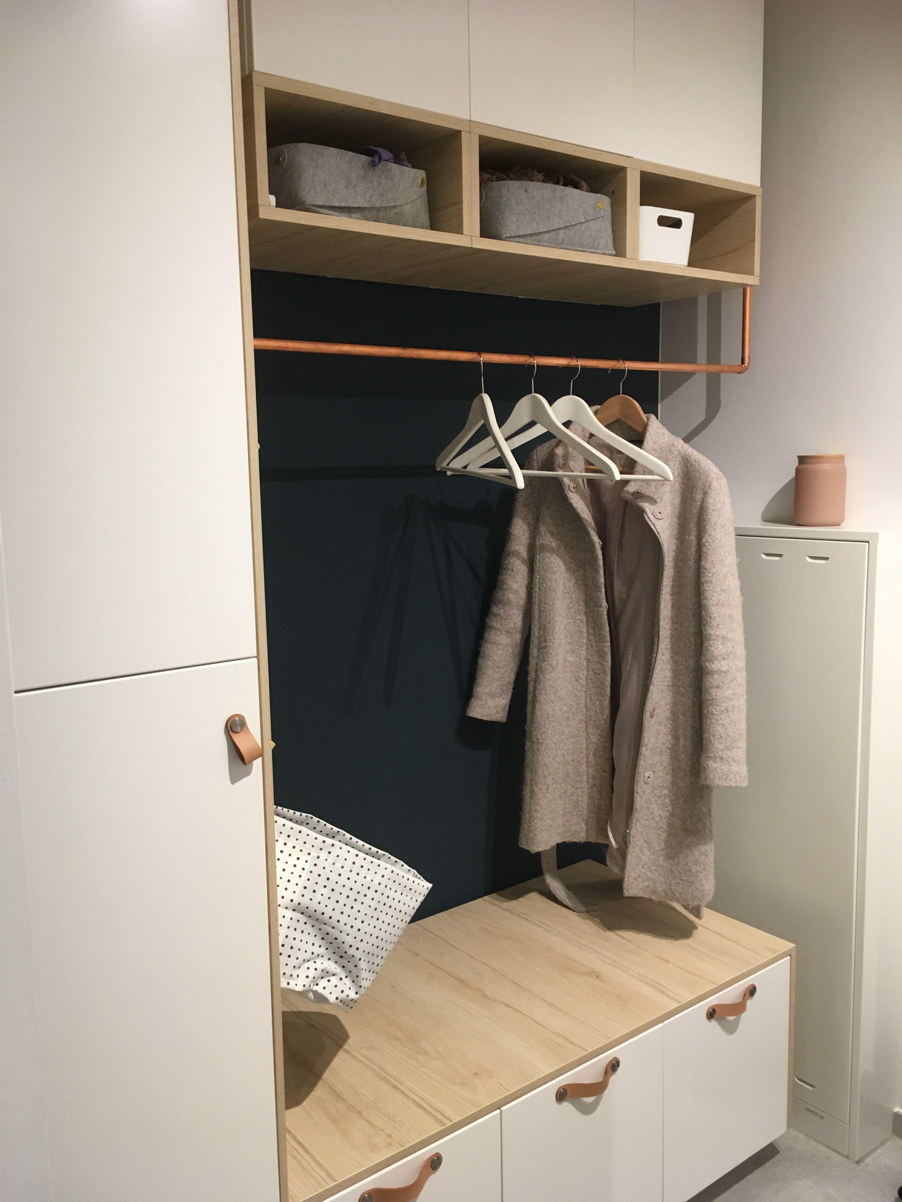Das Ist Unsere Neue Garderobe Garderoben Eingangsbereich Garderobe Flur Einbauschrank