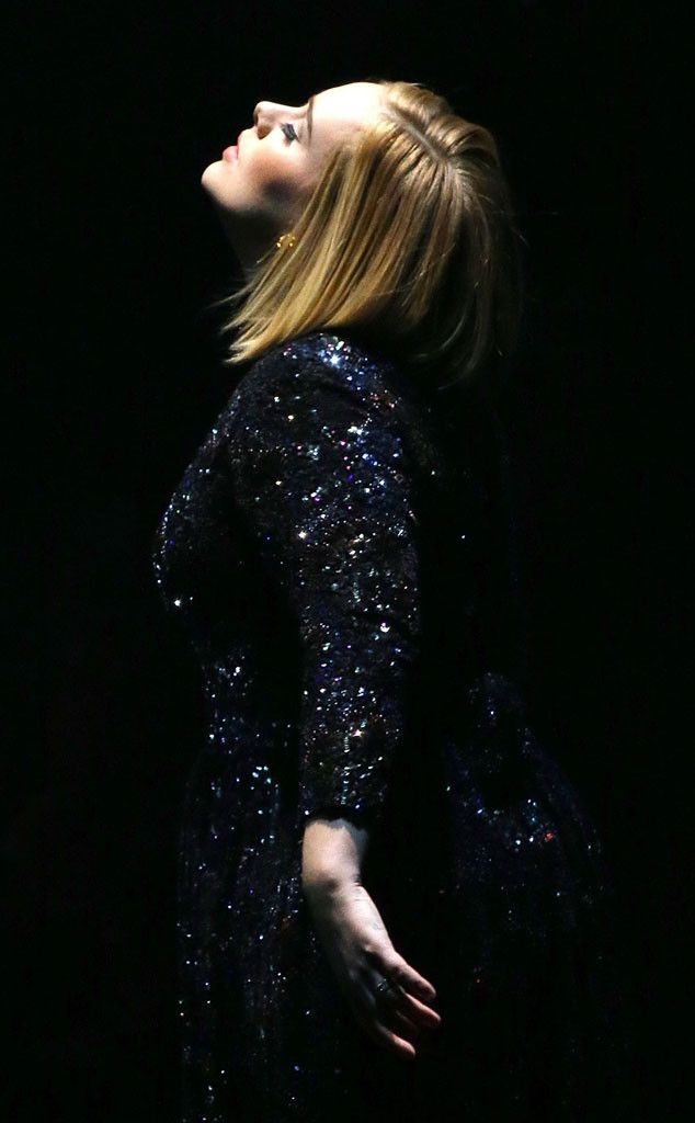Adele from The Big Picture: Today's Hot Pics  The singer channels all the drama during her Washington DC concert.