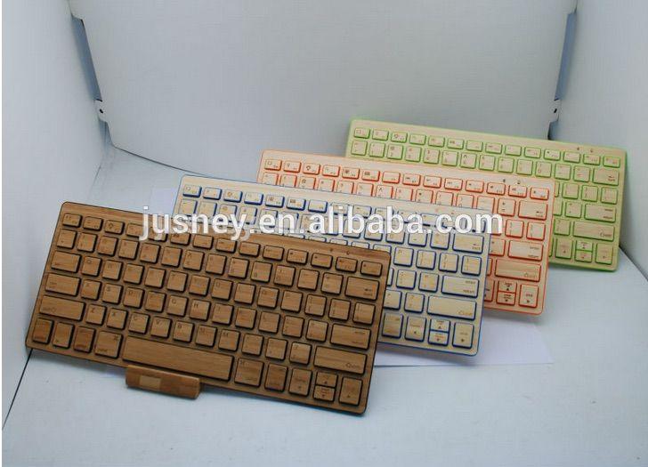 Mobili Bamboo ~ Wooden keyboard bluetooth wireless bamboo bluetooth keyboard for