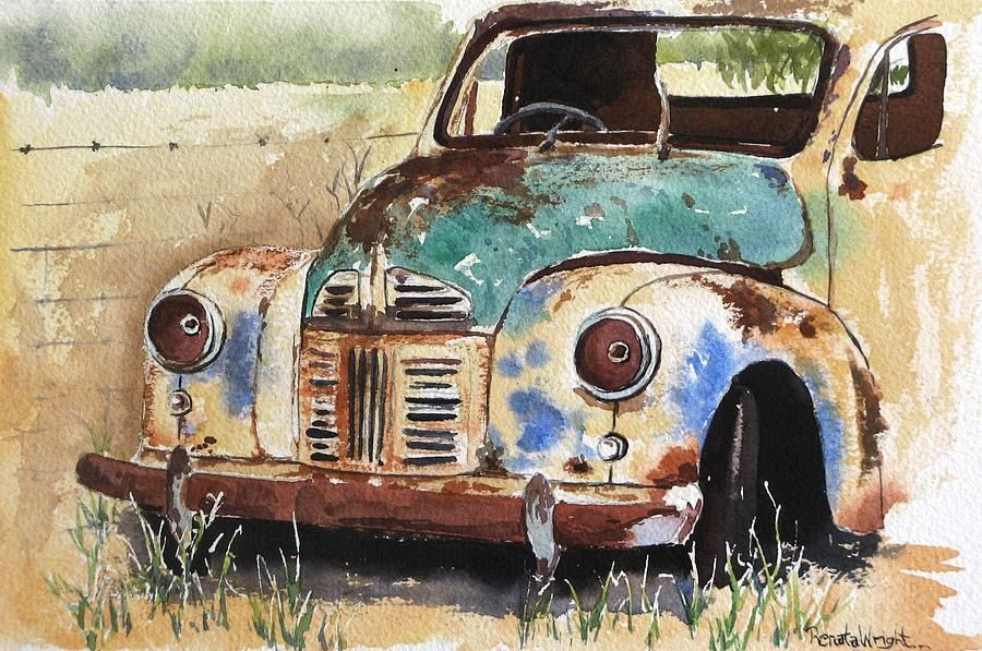 painting old car - Pesquisa Google | Rust, Verdigris, and other Old ...