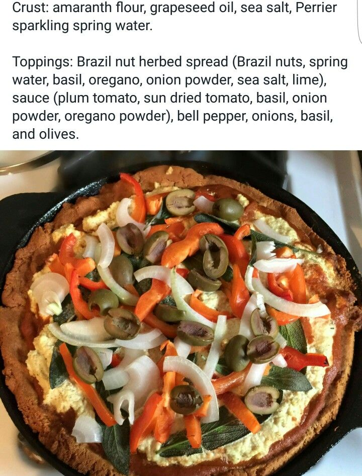 Alkaline Vegan Pizza With Dr Sebi Approved Ingredients